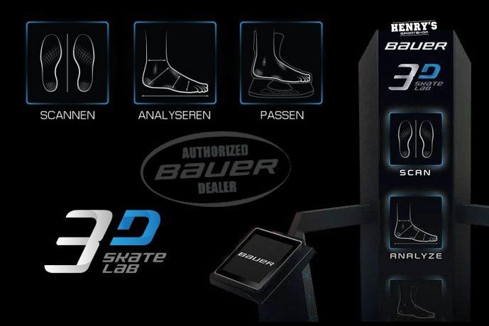 Bauer 3D Skate Lab